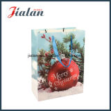 Matte Lamination Printed Cheap Gift Packing Christmas Promotion Paper Bags