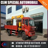 Cheap! LHD or Rhd Truck Mounted Crane, 2.5ton-5ton Loading of Crane, Mobile Truck with Crane for Hot Sale