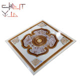 600X600mm, 595X595mm, 603X603 603X1215mm 2 by 2 2′x2′ Square PVC Wall Panel False Ceiling PVC Tile PVC Ceiling Panel