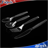 Jx157 Heavy Weight PS Plastic Cutlery Airline Kit Supplier