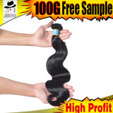100% Human Hair/10A Brazilian Hair Extension