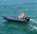 Liya Small Open Floor Rib Boat Fiberglass Flat Bottom Boat