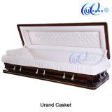 China Supplier American Style Hot Sale Wooden Casket and Coffin