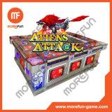 Aliens Attack Fish Hunter Arcade Game Fish Table Gambling Machine
