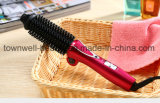 Folding New Electric PTC Heater LED Display Professional Hair Curling Brush Iron