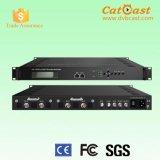 1080P MPEG4/MPEG2 Encoder Modulator with 4 HDMI/SDI Input and Asi RF Output
