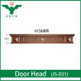 Classical Designs Waterproof Villa Front Soild Wood Double Door Header
