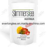 100% Organic Herbal Detox Tea Slimming Tea Weight Loss Tea Slimmers Tea (Strawberry and Mango Flavor)