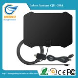 Flat HD Digital Indoor Amplified TV Antenna - 50 Miles Range TV ISDB ATSC DVB-T DVB-T2 Antenna