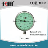 0-4mm Small Dial Indicator with 0.01mm Graduation