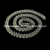 Fashion Men′s Curb Chain, 316L Steel Necklace (8.6mm GTAS12-230)
