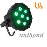 7 PCS LED PAR Light LED PAR Light RGBW 3W