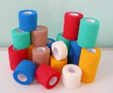 Hot Sale Non Woven Cotton Sticks Elastic Cohesive Bandage Tape