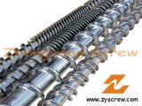 Extruder Screw Barrel Plastic Extrusion Screw Barrel Bimetallic Screw Barrel