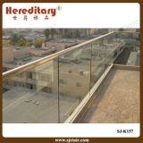 Frameless Glass Railing System for Railing and Staircase (SJ-K157)
