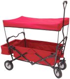 Kids Folding Beach Wagon Cart