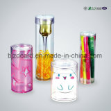 Stationery Box Transparent Plastic Cylinder Packaging Box