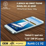 5.25 Inch 720X1280 IPS Mtk Quad-Core Android Lollipop Smartphone