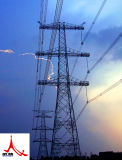 500 Kv Single Circuit Corner Iron Power Transmission Steel Tower