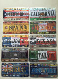 Custom Vintage China License Plates