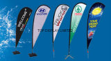 Popular Promotion Price Outdoor Advertising Teardrop Flying Banner Feather Flag Banner