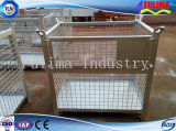 Stackable Steel Wire Mesh Storage Cage for Warehouse/Construction Site (SC-002)