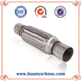 Stainless Steel Auto Exhaust Flexible Pipe with Nipple