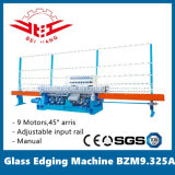 Glass Edging Machine 9 Motors Input Rail Adjustable (BZM9.325A)