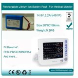 12V, 20.8ah Portable CPAP Battery Pack for Respironics, Resmed, Deviblis, F&P, BMC