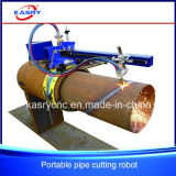 Portable Metal Pipe Steel Tube Outdoor CNC Plasma/Flame Cutting Tool