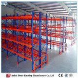 China Nanjing Dexion Powder Coated Blue & Orange Heavy Duty Steel Pallet Racks System