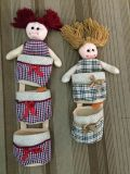 Fashion Doll Hanging Storage Bag Organiser