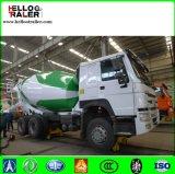 HOWO Cement Transport Concrete Mixer Left Hand Drive Truck