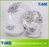 30PCS Fine Porcelain Dinnerware Dinner Set