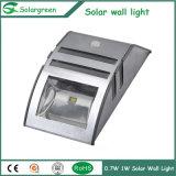 Adjustable LED Brightness 3W LED Solar Wall Lignt