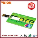 Bulk Custom Credit Card USB Flash Drive 1GB - 64GB for Promotion Gifts (VS-CD08)