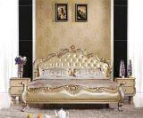 New Classical Bed 670# - Bedroom Furniture