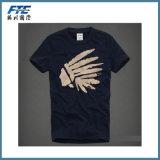 Plain Cotton T-Shirt/Polo Shirt with Custom Logo Printed