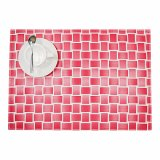 Mixed Color 100% Polyester Woven Tablemat for Tabletop