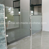 Stainless Steel Stair Balustrade for Glass Fence with Glass Clamp