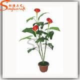 Hot Sale Home Decor Artificial Plant Bonsai Potted Flower