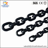 Black G80 Lifting Alloy Steel Link Chain