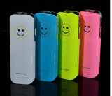Smile Face Power Bank Portable for All Smart Phone with LED Torch New in 2015