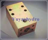 Hydraulic Pipe Flange Junction Block for Hydraulic Excavator
