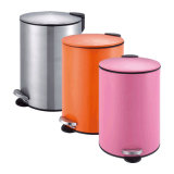 5L Pretty Colorful Pedal Dustbin