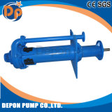 Centrifugal Vertical Rubber Lined Slurry Pump Open Impeller