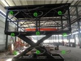 Basement Double Platform Car Lift