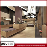 Simple and Fashion Shoes Shop Interior Design for Department Store