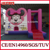 Commercial Inflatable Bouncer Combo with Slide