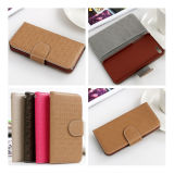 Soft Leather +TPU Mobile Phone Case for iPhone 5